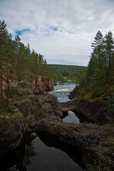Untouched Finnish nature...